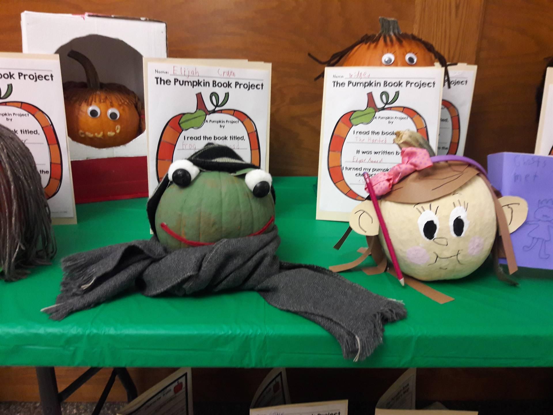 2nd Grade Pumpkin Book Project