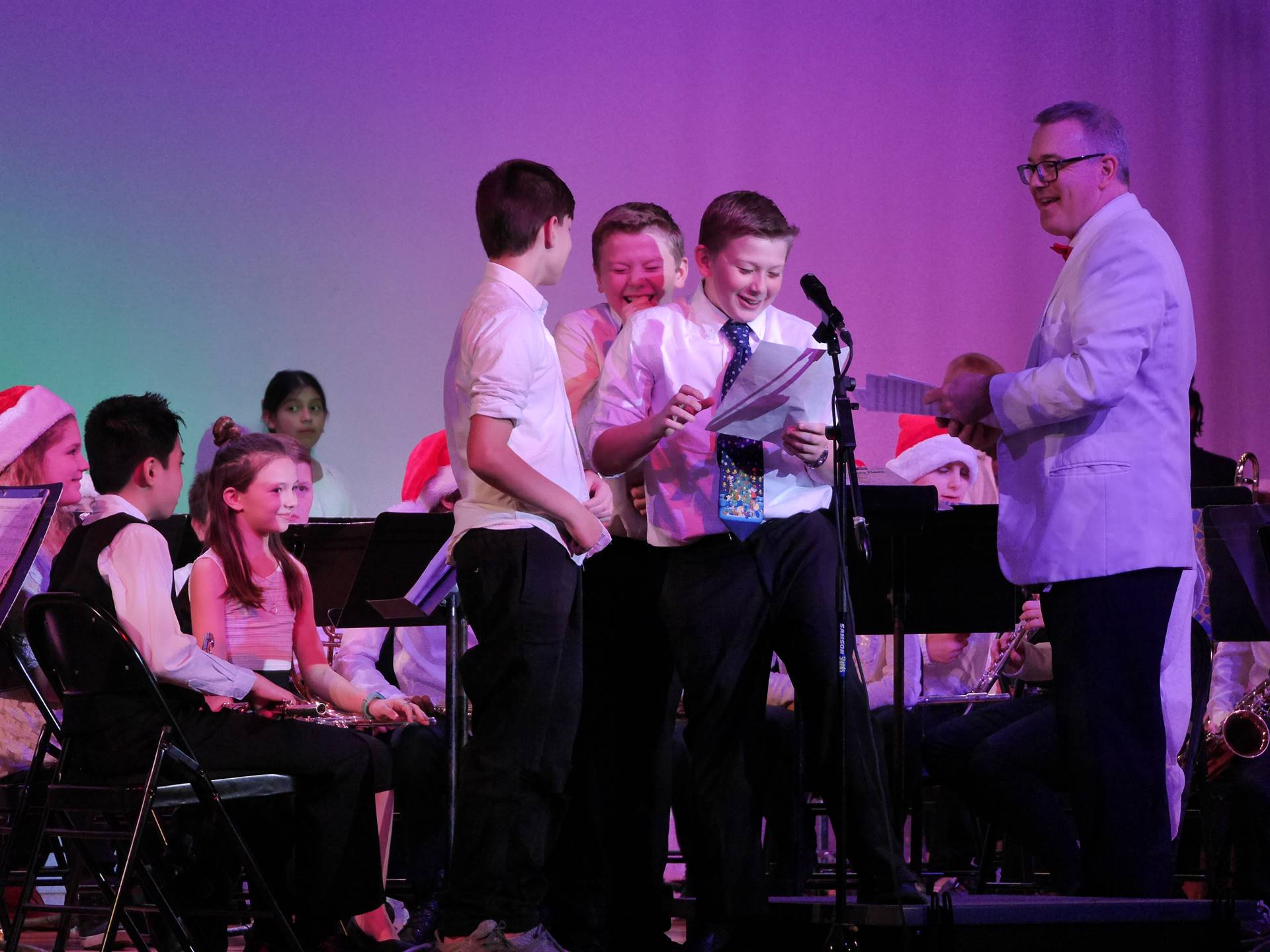 Elementary Band Orchestra Concert