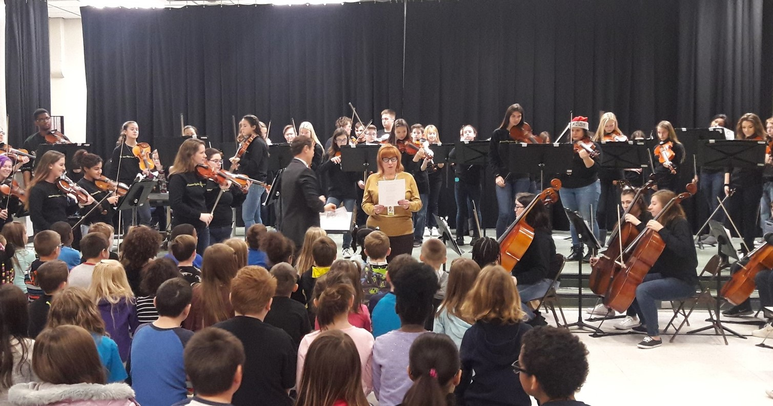 Orchestra Performance at Verner