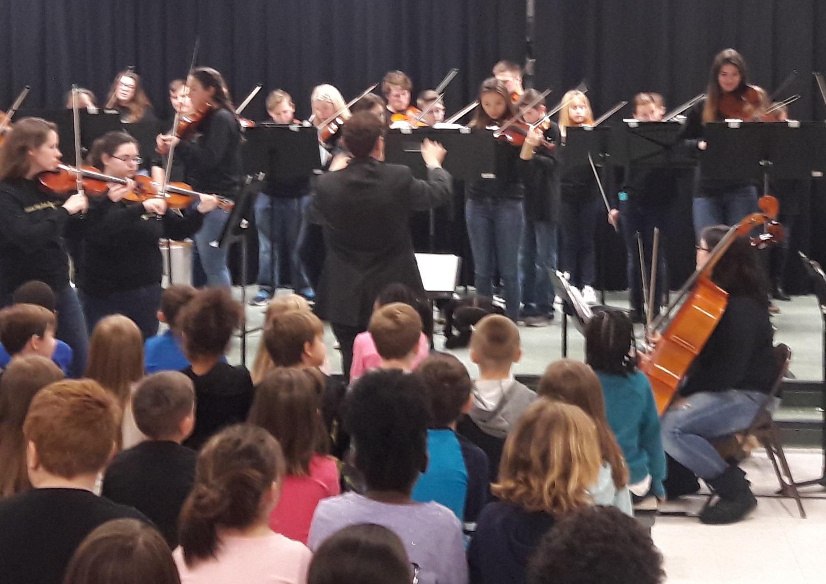 Orchestra Performance at Verner