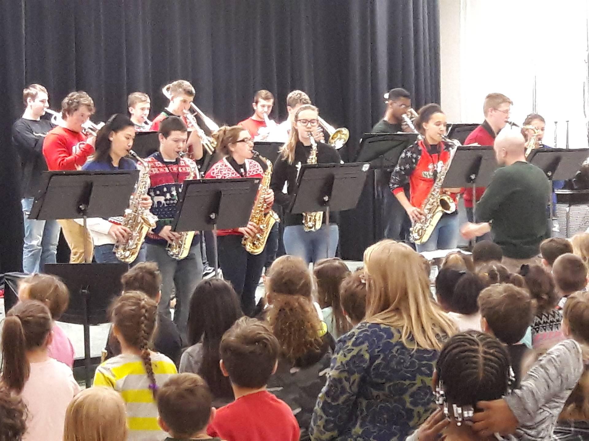 Jazz Band Performance at Verner