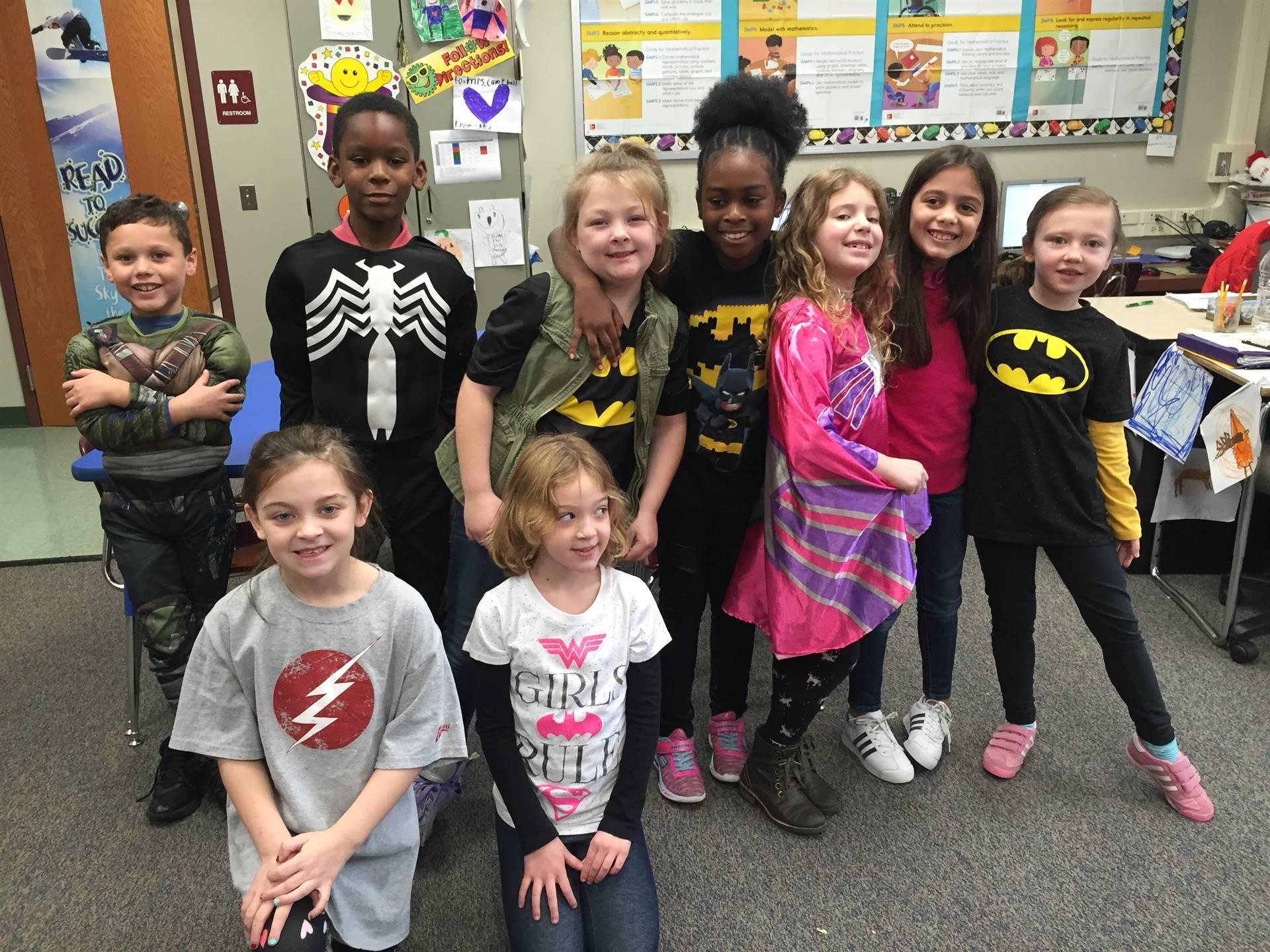 Spirit Week - Hero Day