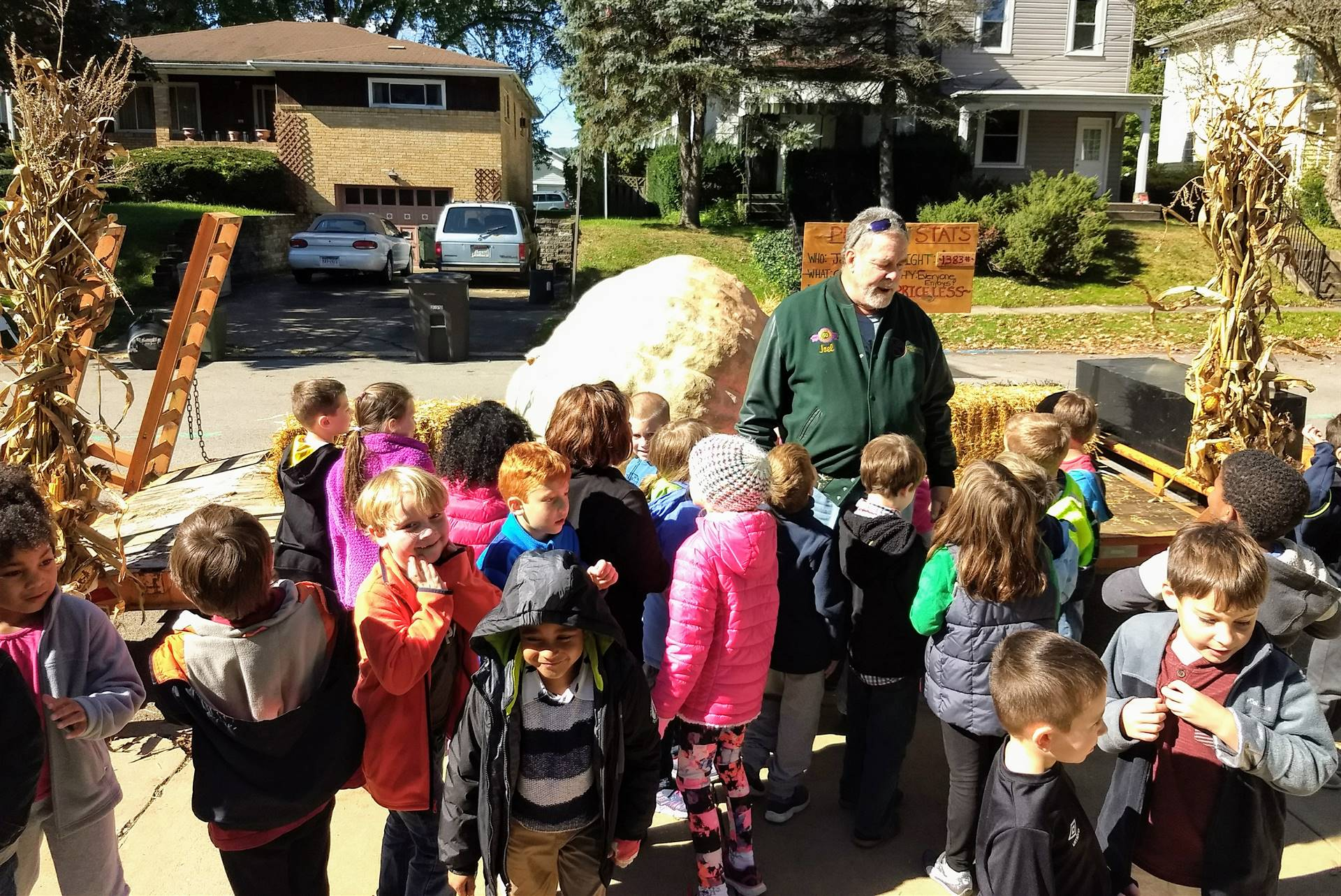 First Grade and the Giant Pumpkin