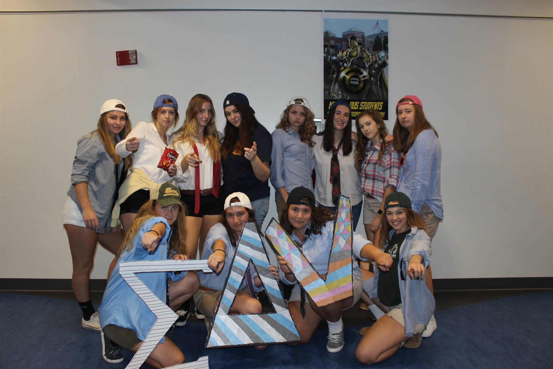 HS Spirit Week Frat Day