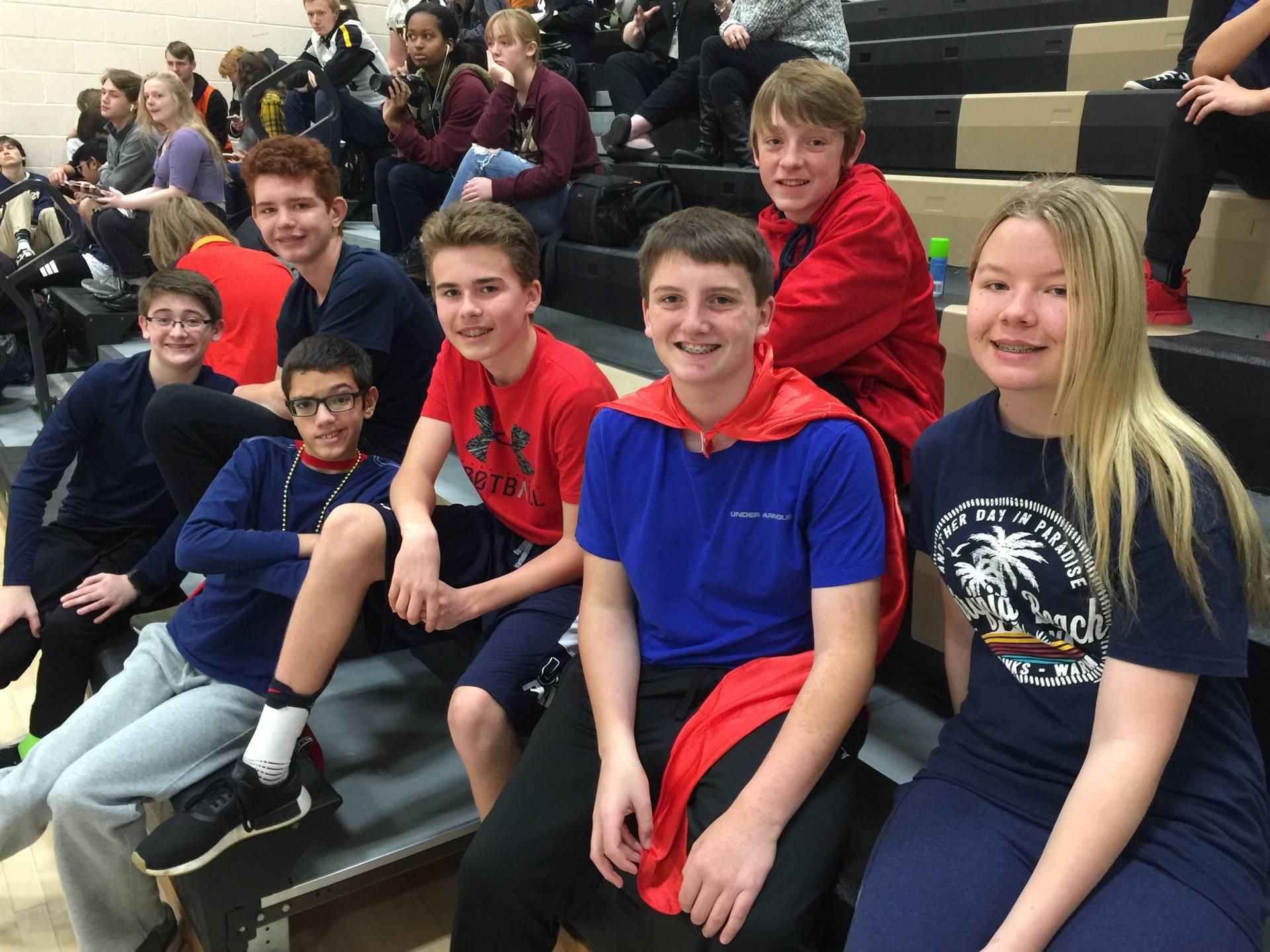 Jr. High School Students