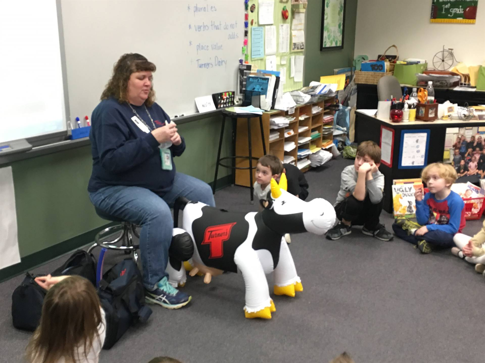 Turner's Dairy Visits First Grade...If I were a Cow
