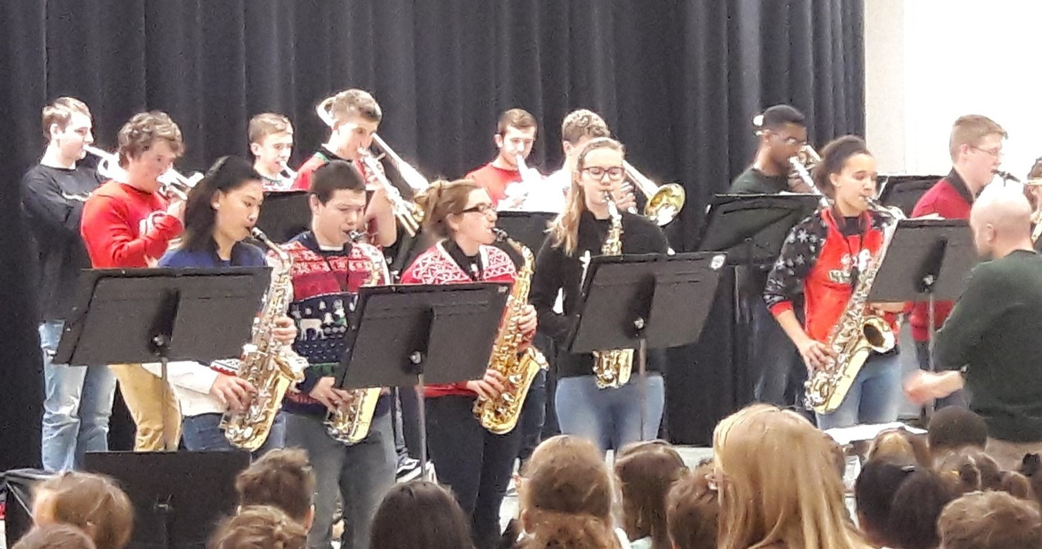 Jazz Band Performance at Verner Elementary