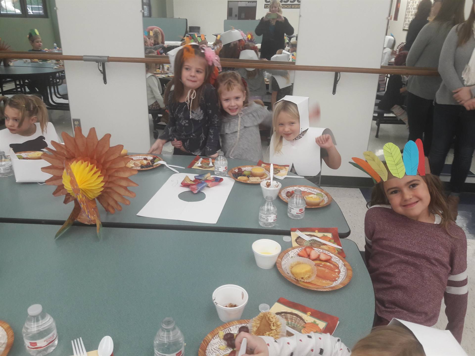 Kindergarten Thanksgiving Meal