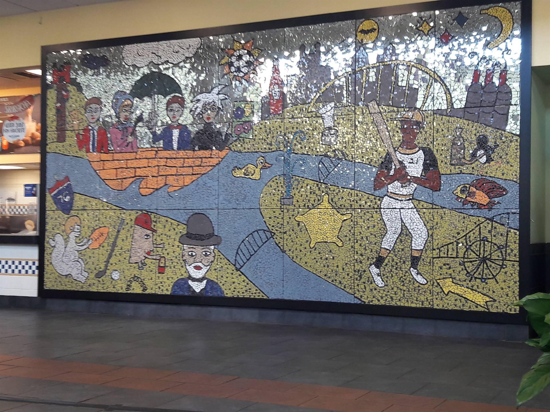 Art Sparks Turnpike Mural