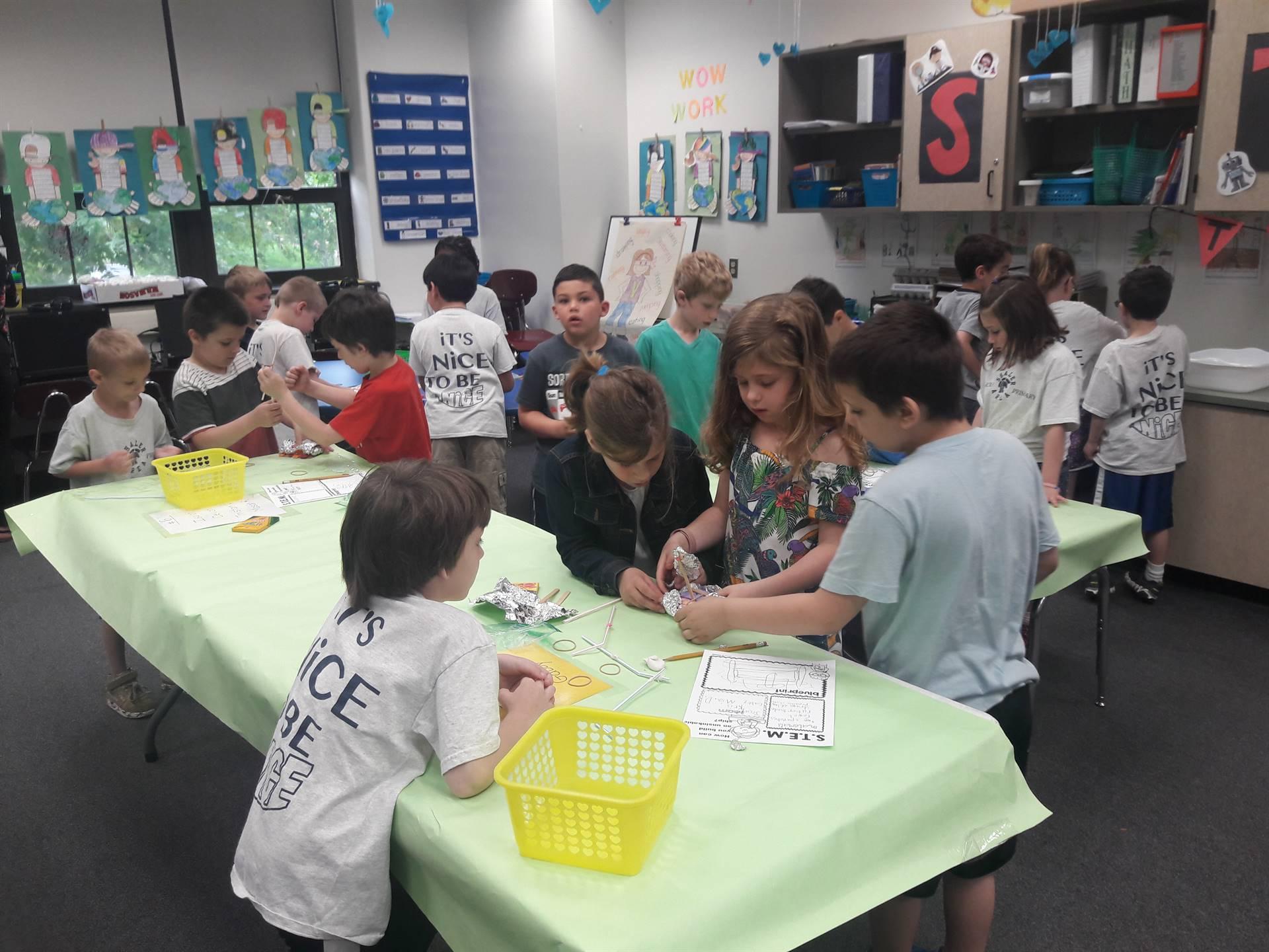 Shaler Visits Tenth St. Elementary