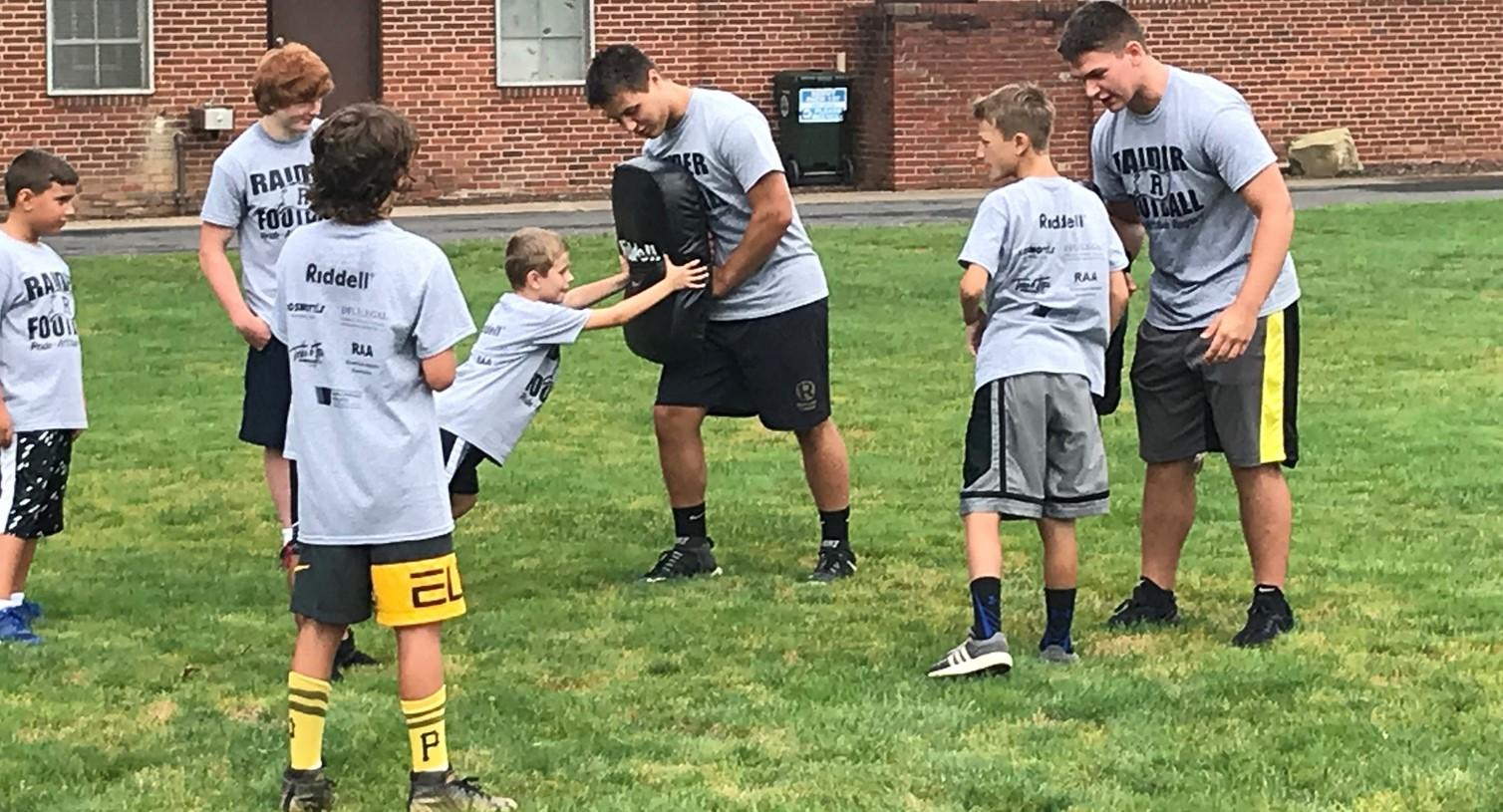 Raider Football Youth Camp