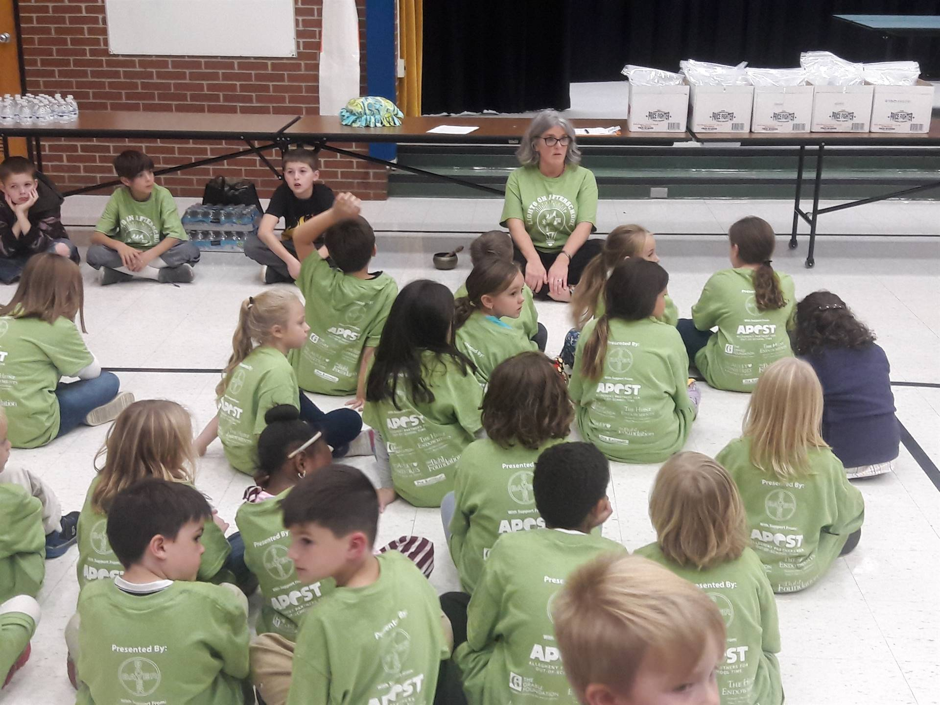 """Lights on Afterschool"" Mindfulness Activity"
