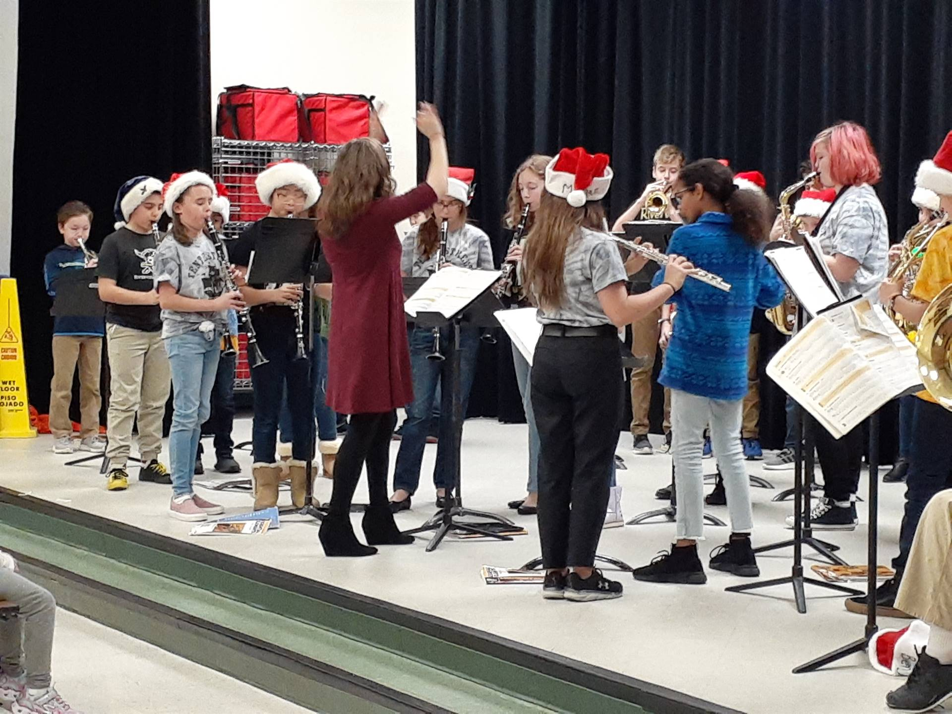 Elementary Band Holiday Performance