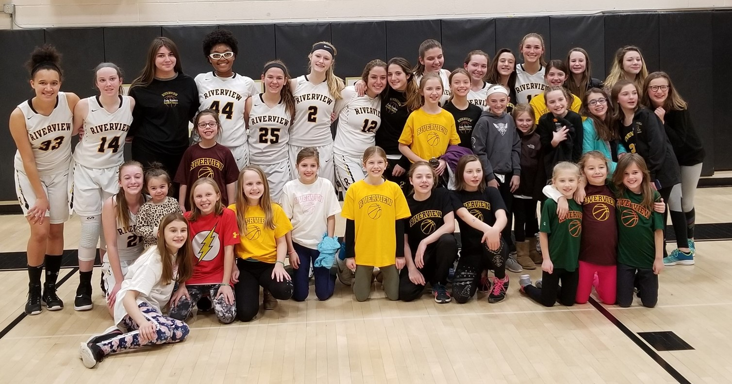 RAA Youth Girls Basketball Players Attend Varsity Lady Raiders Game