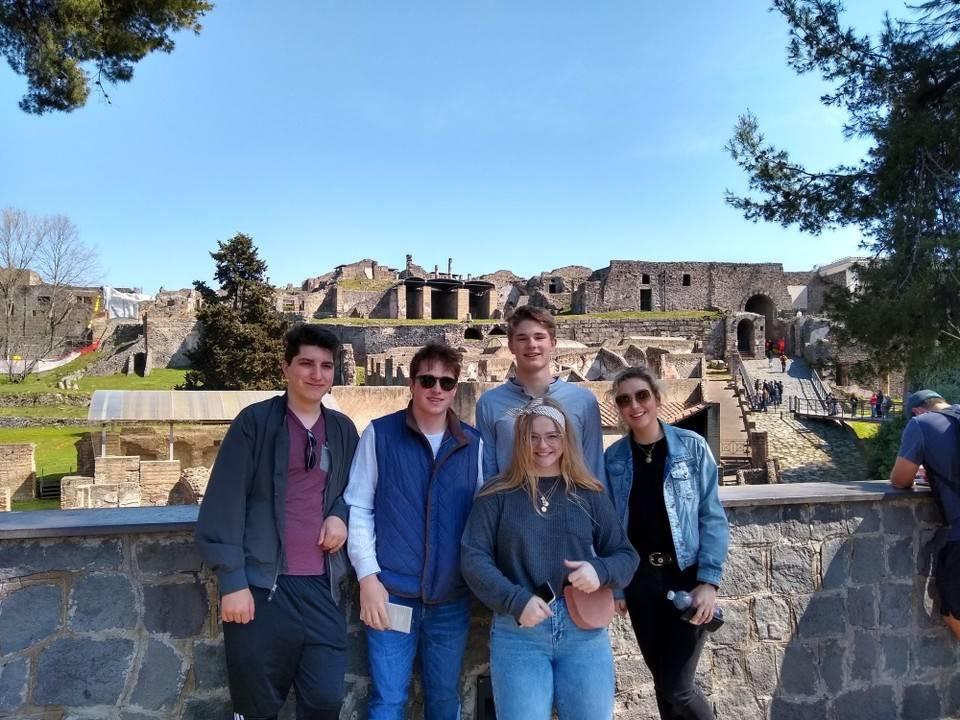 Model UN in Pompeii