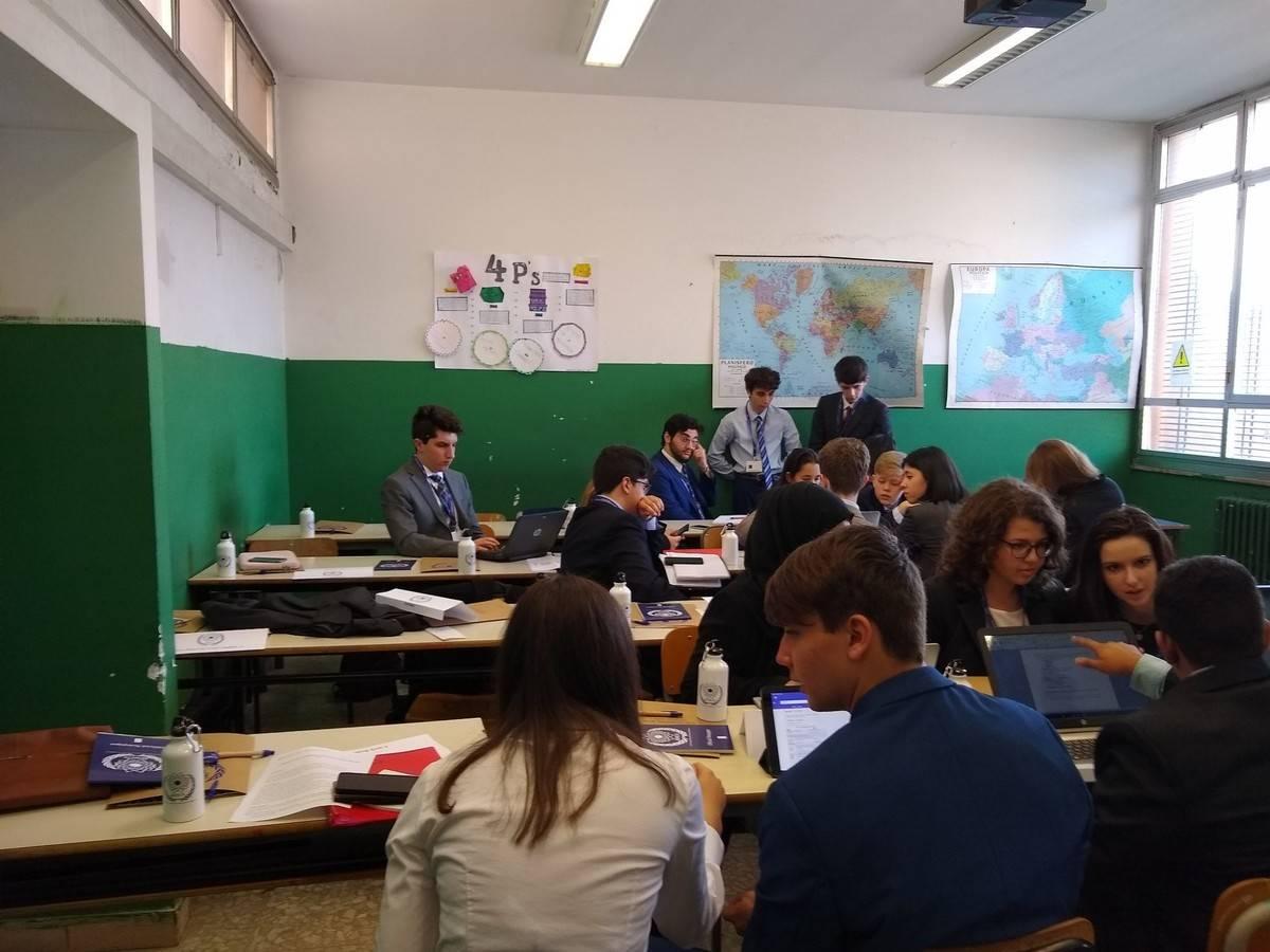 Rome Model UN Conference