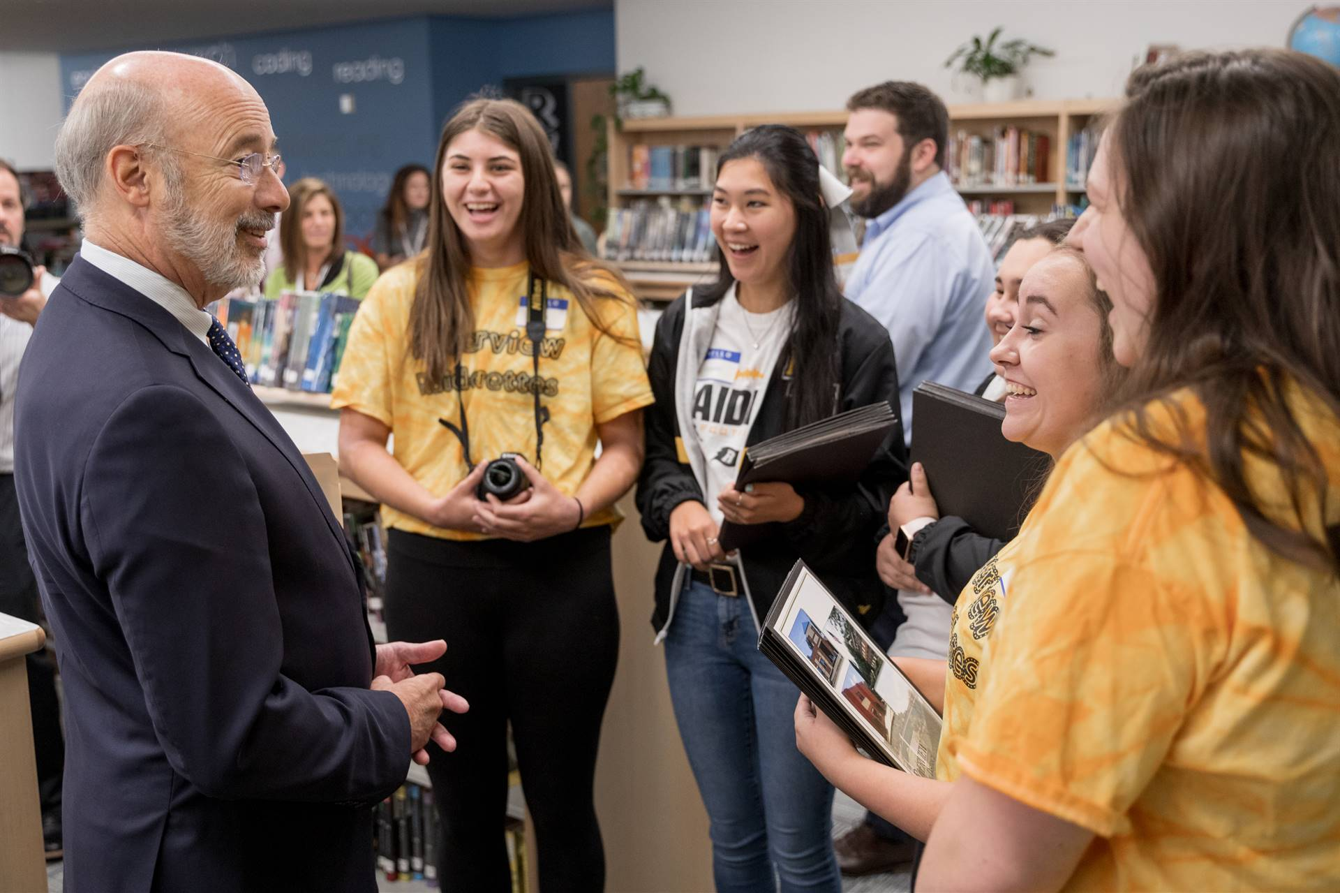 JSHS Welcomes Governor Wolf