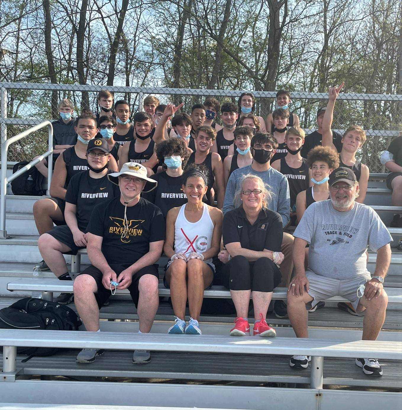 Riverview Boys' Track and Field Team