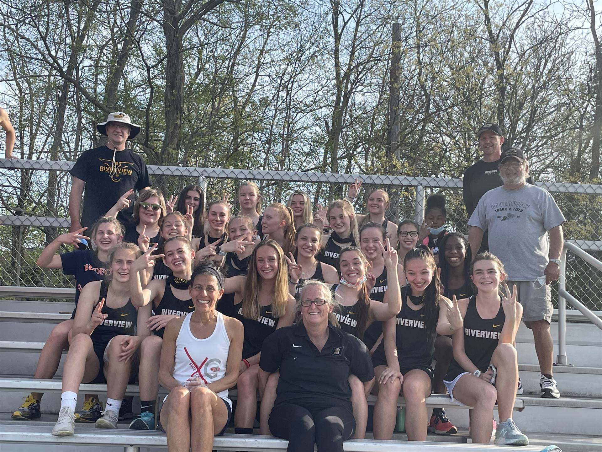 Riverview Girls' Track and Field Team